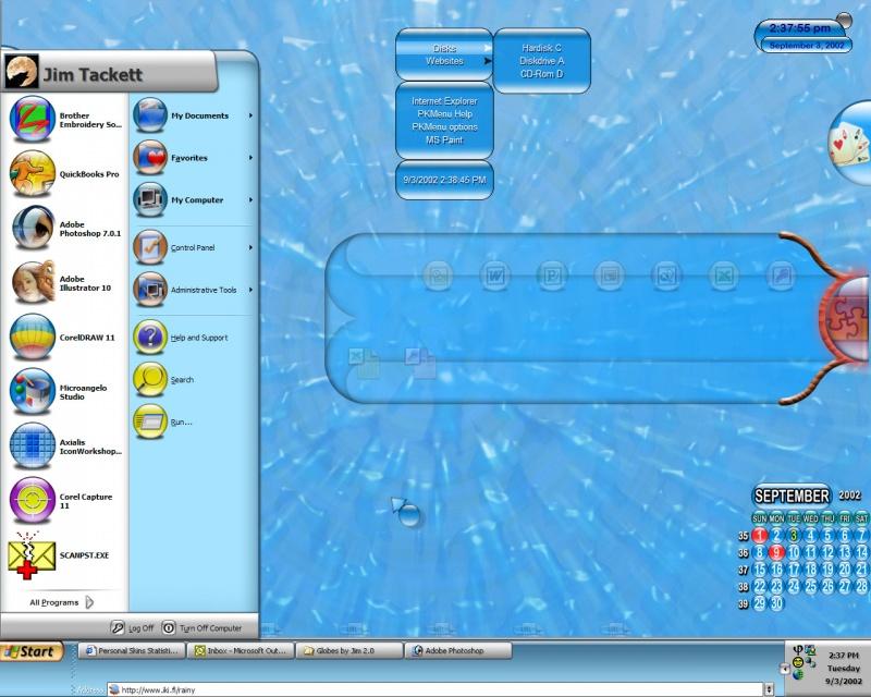 JamesT´s current desktop