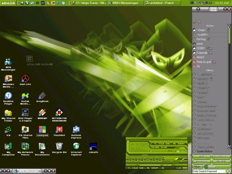 My Ninja Desktop