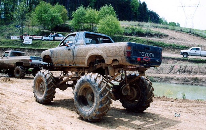 Mud Chevy Powered Toy