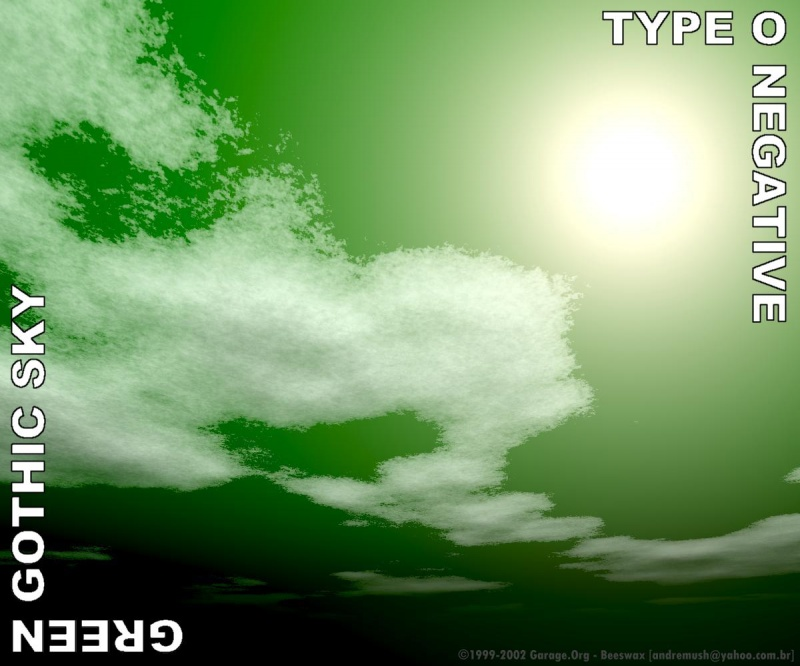 Type O Negative - Green Gothic Sky
