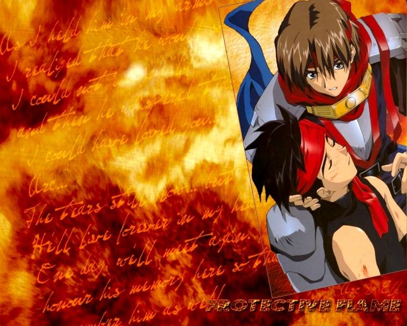 Protective Flame