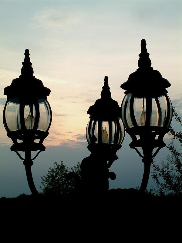 Lamp & Sunset