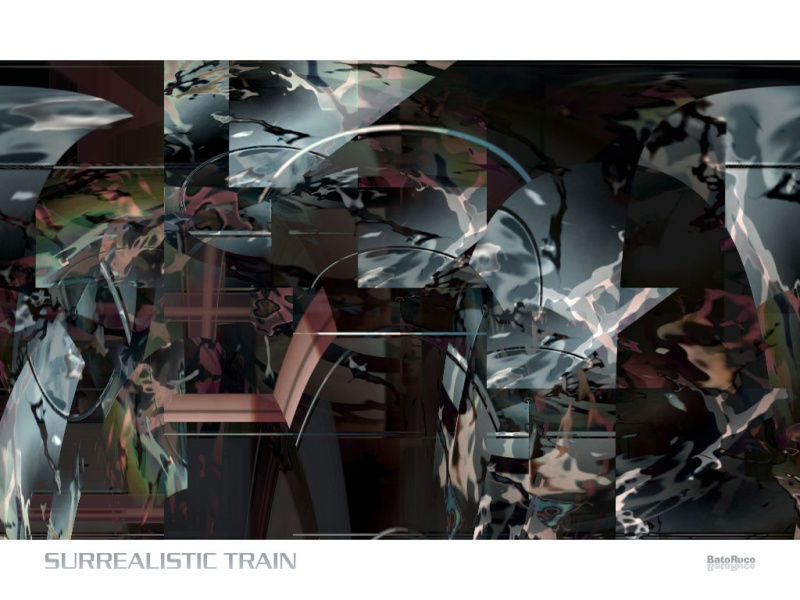Surrealistic Train
