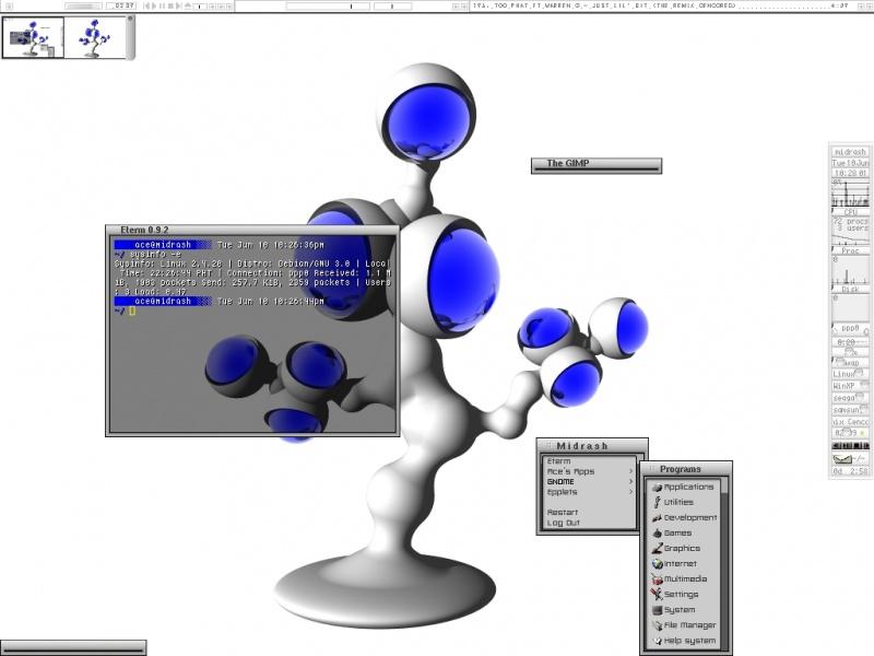 My Desktop SS (DEBIAN II)