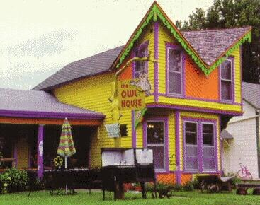 Pretty Colored House