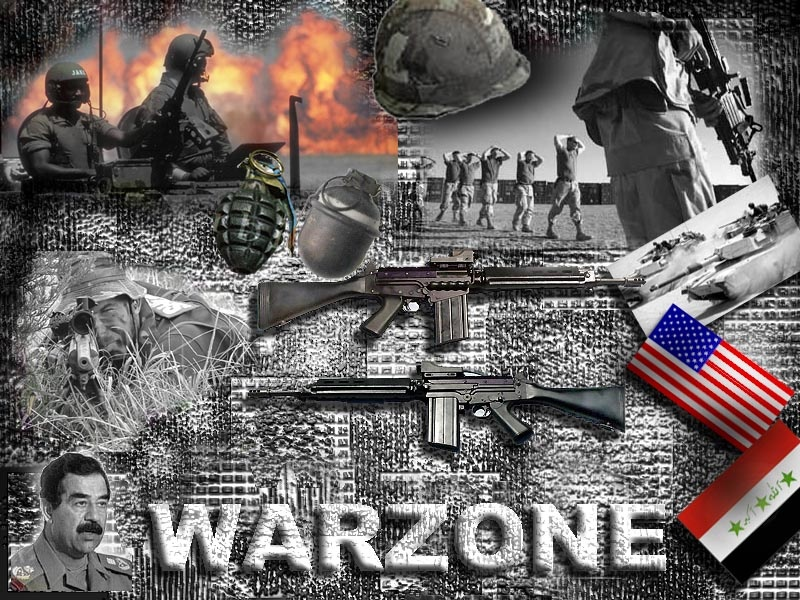 warzone - collage