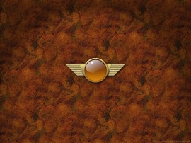 Brass Wings - Wall