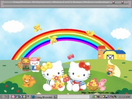 Hello Kitty´s farmland.