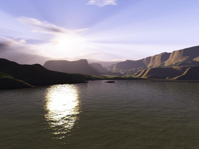 Calm landscape
