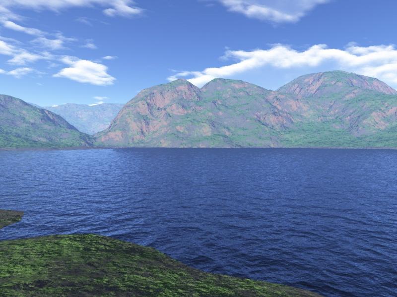 Calm landscape 2