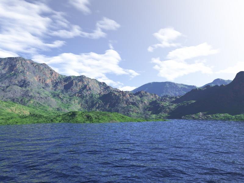 Calm landscape 3