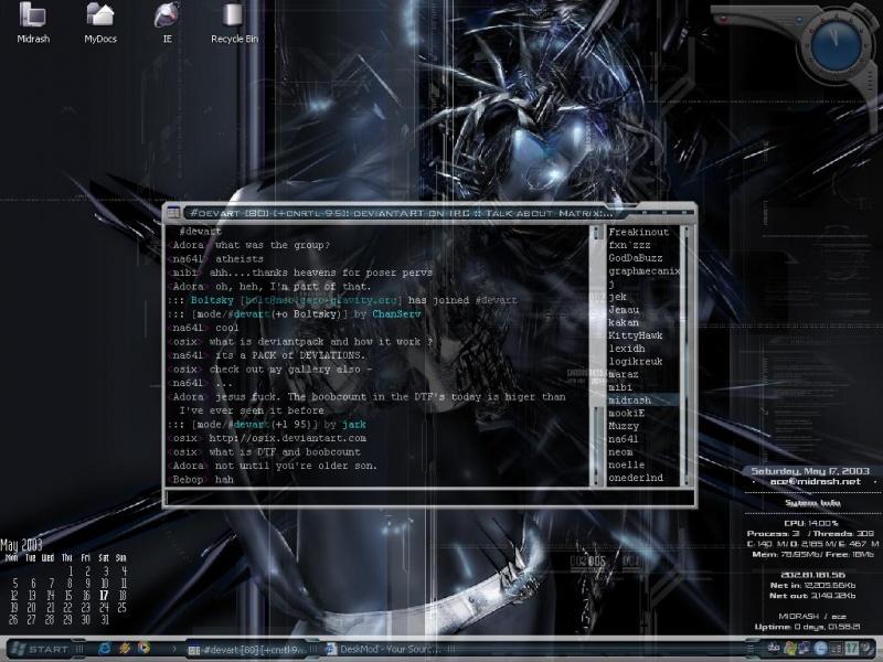 My Desktop SS (Sentinel)