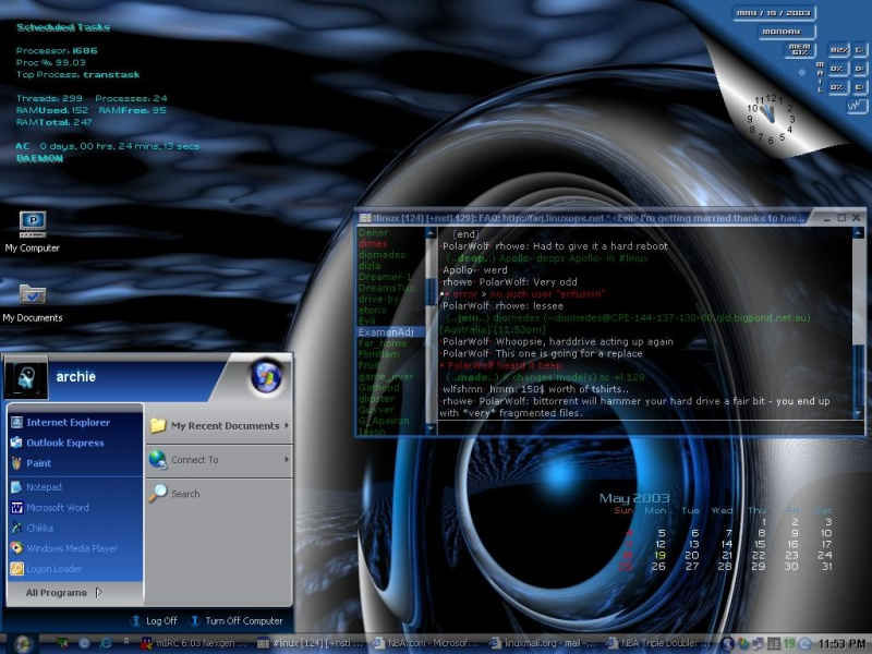 Daemons Desktop Development