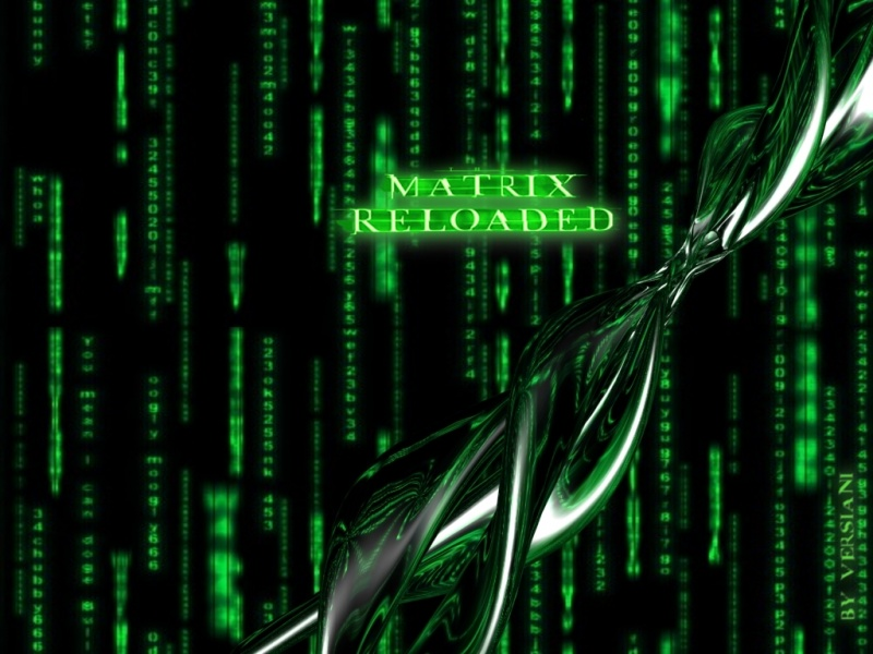 The Matrix Reloaded WP by Versiani