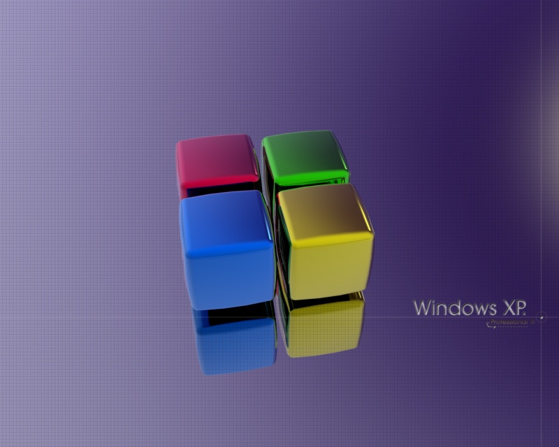 Windows XP cube