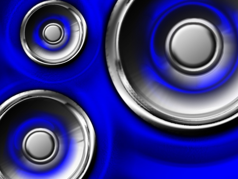 Neon Bass (blue)