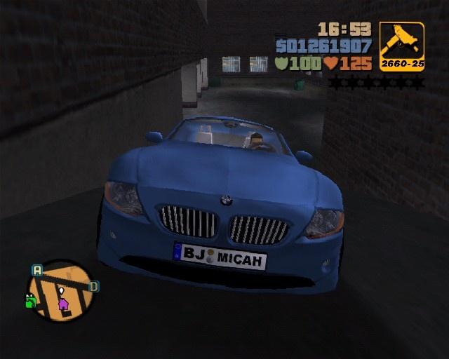 GTA3 BMW Z4