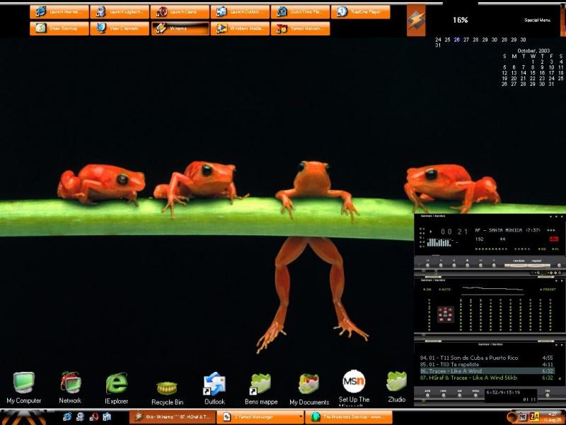 Frog Froggy Frog & Crew