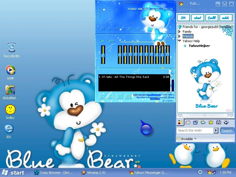 Blue Bear.