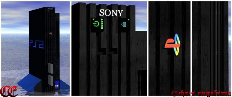 3D Playstation 2