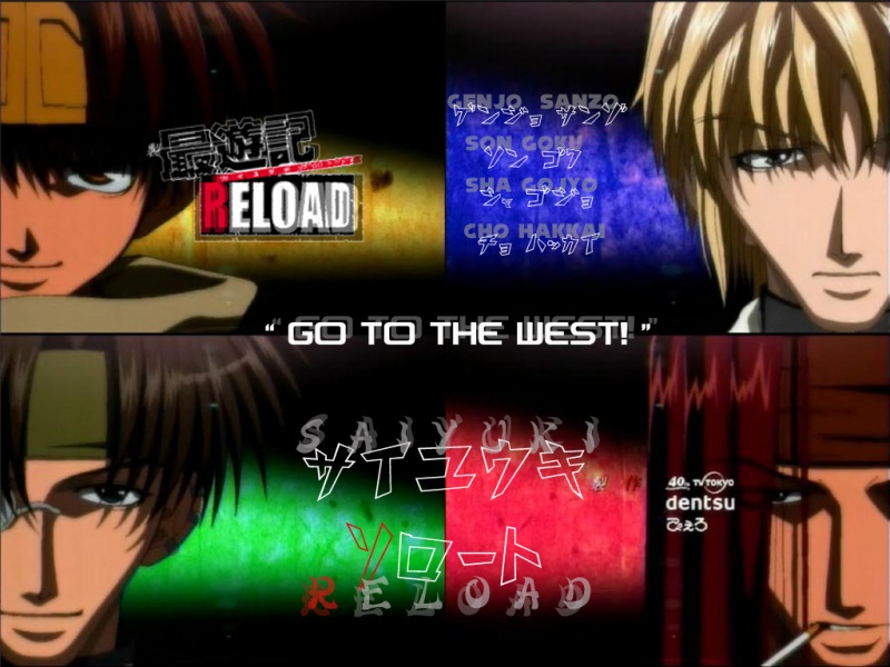 Saiyuki Go to The West
