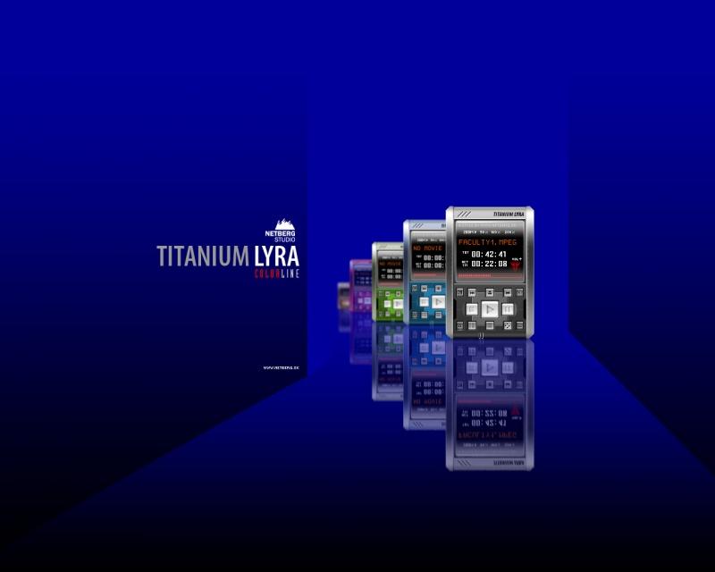 Titanium Lyra Colorline II.