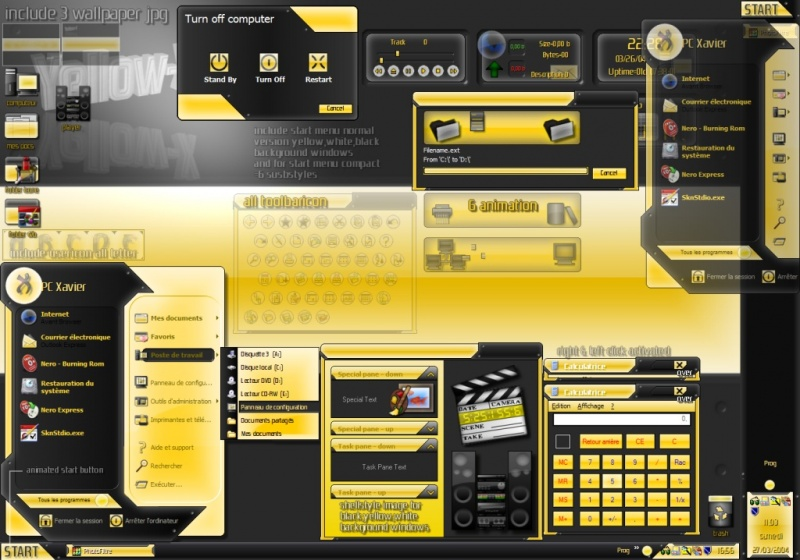 Yellow-X gui