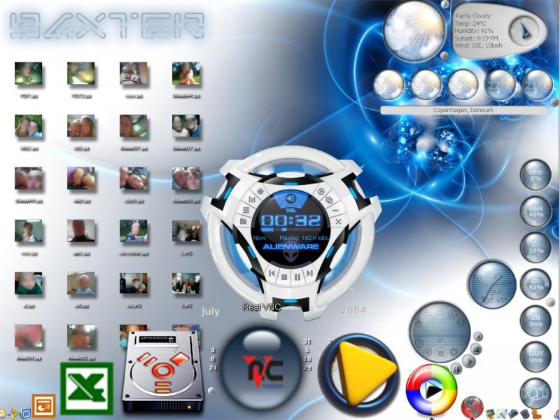 baxters desktop