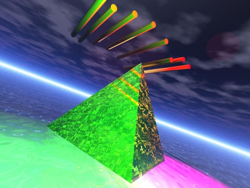 Fluid Pyramid