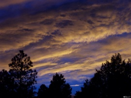 Dusk in New Mexico