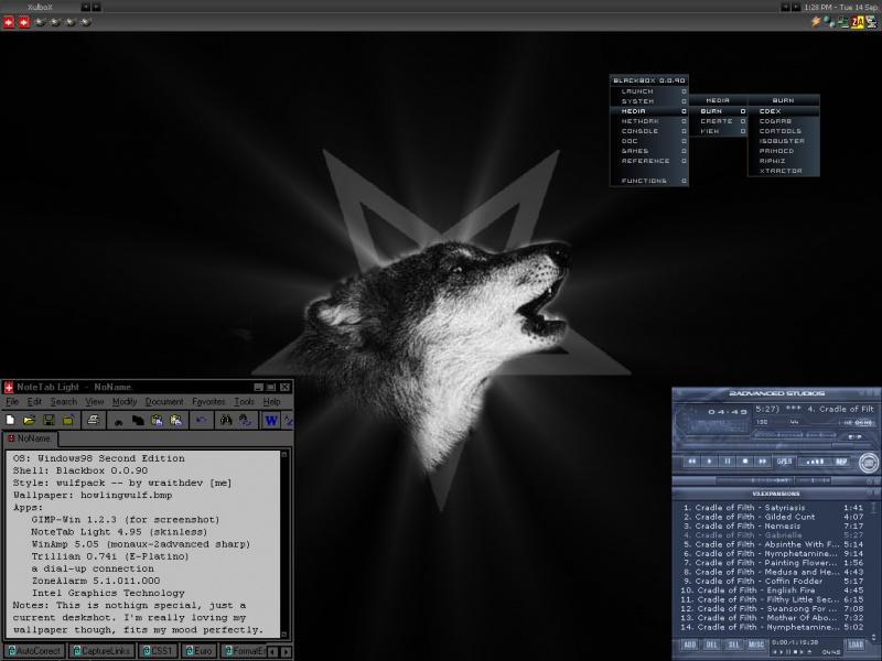 WulfPack Desktop