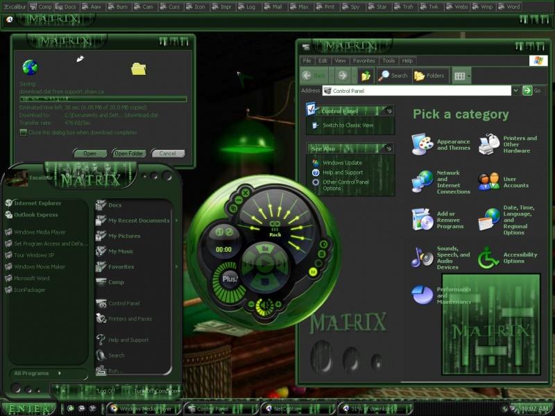 Just A Desktop Shot Matrix Pool
