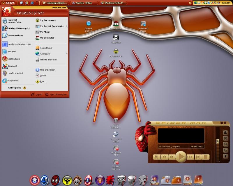 Spidey´s web