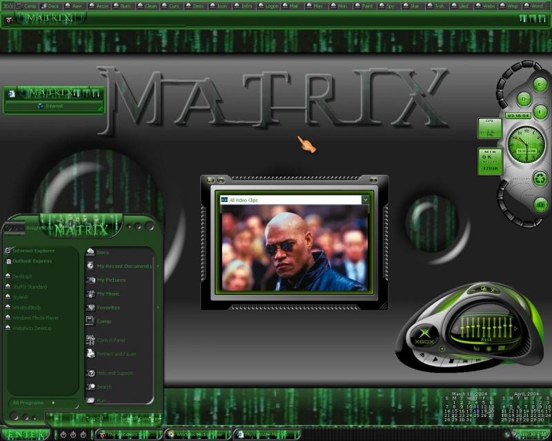 It´s Matrix Time :)