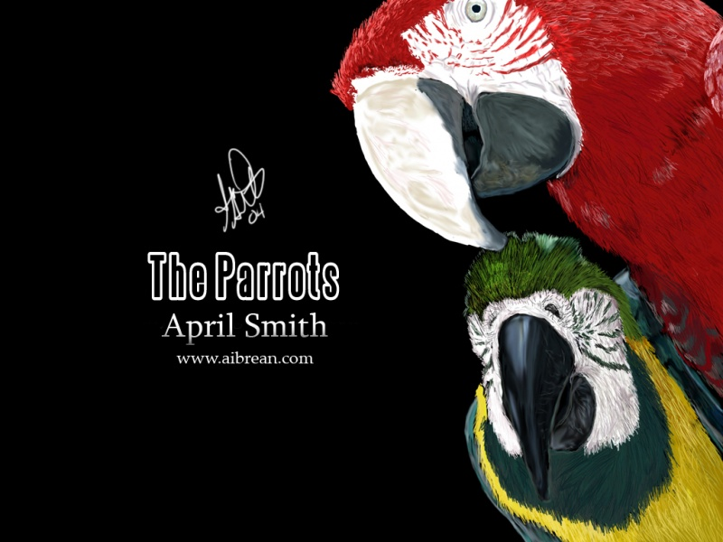 The Parrots Wallpaper