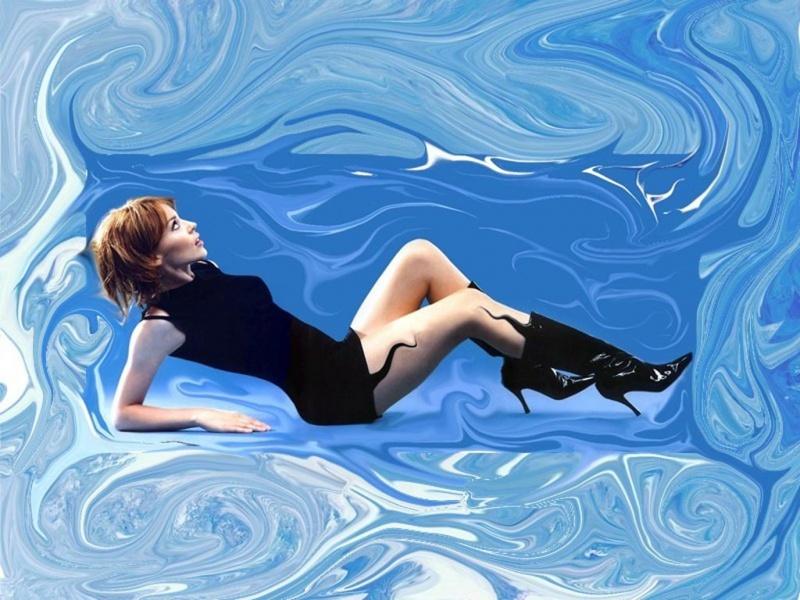 Kylie swirled