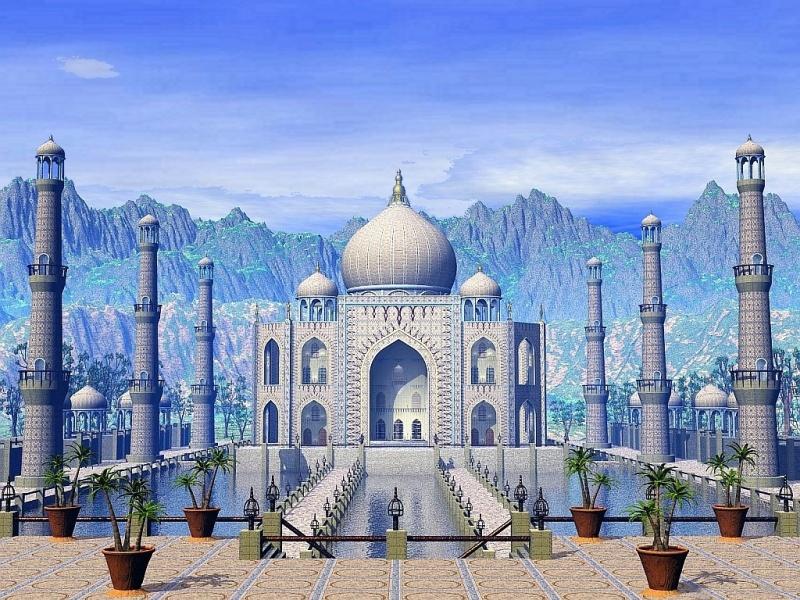 Tah Mahal daytime