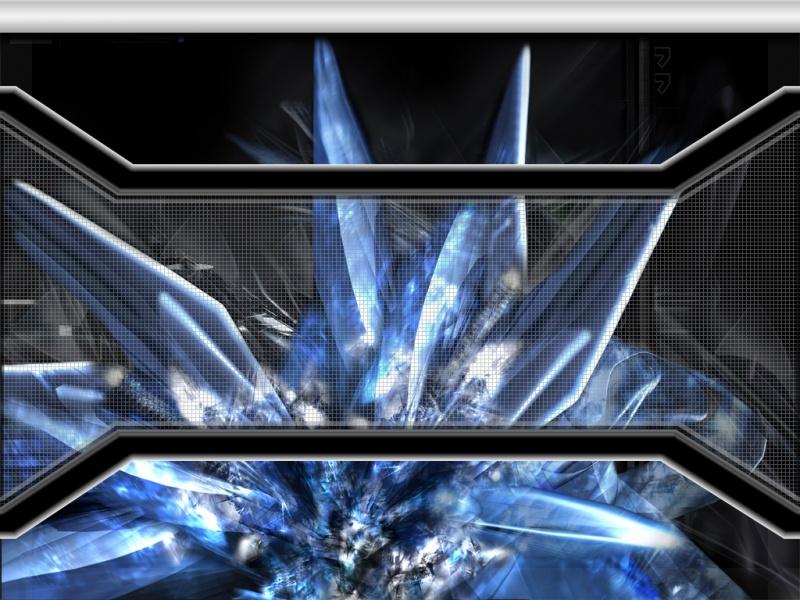 Crystal explosion