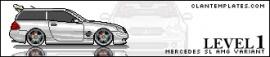 Mercedes SL-AMG Variant PixelCar