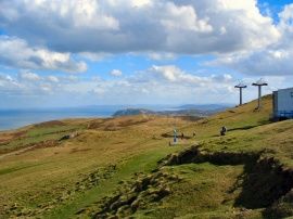 Great Orme summit, Llandudno, North Wales UK