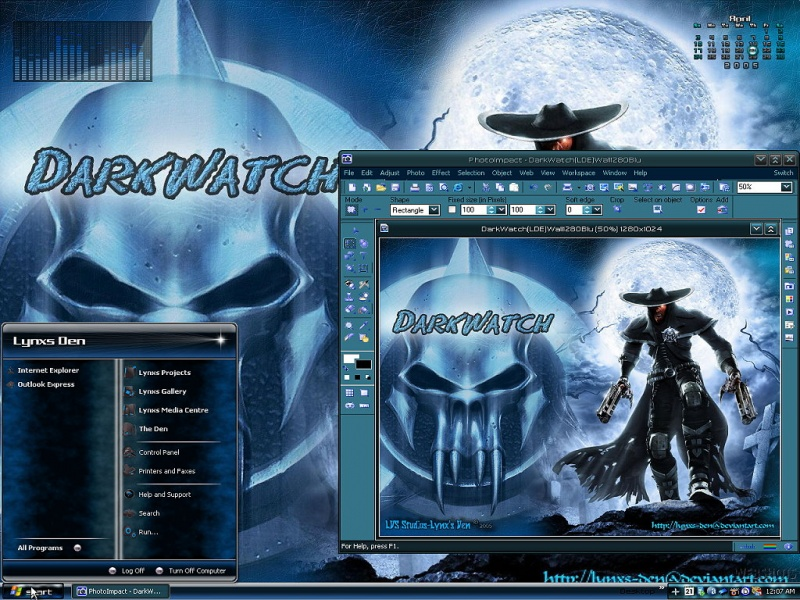 DarkWatch Theme