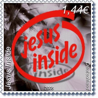 Jesus Inside_Deutschland Stamp SAMPLE