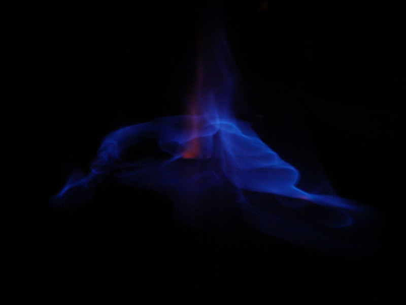 Vodka in fire