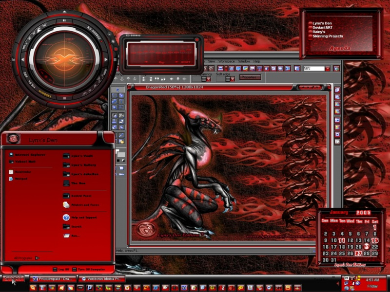 DragonRed(LDE) Theme
