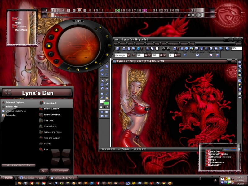 SimplyRed(LDE) Theme