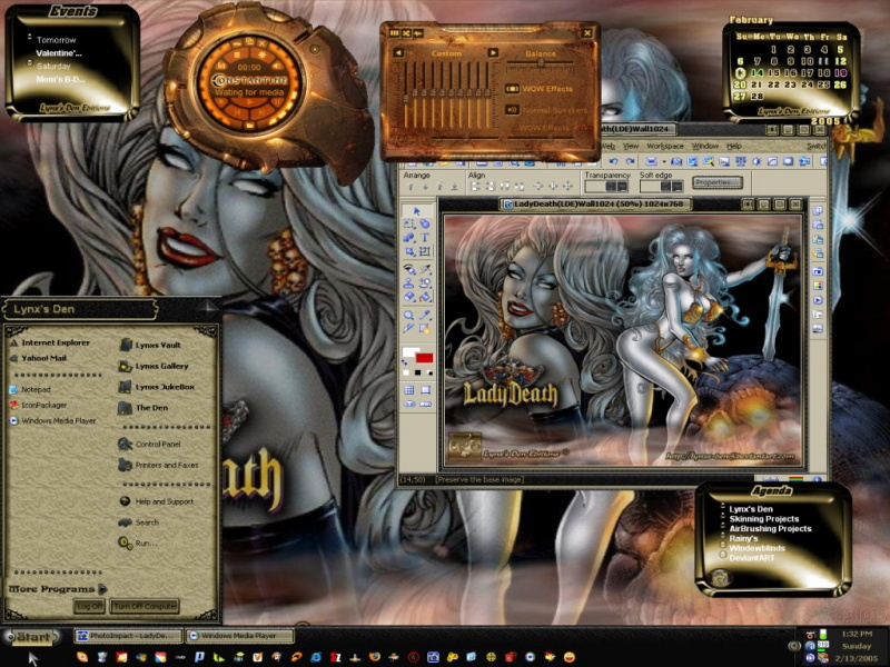 Lady Death (LDE) Theme