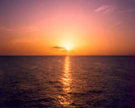 A Caribbean Sunset