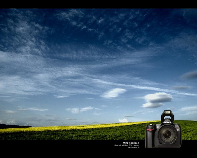Windy horizon