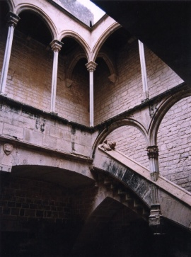 Inside the convent