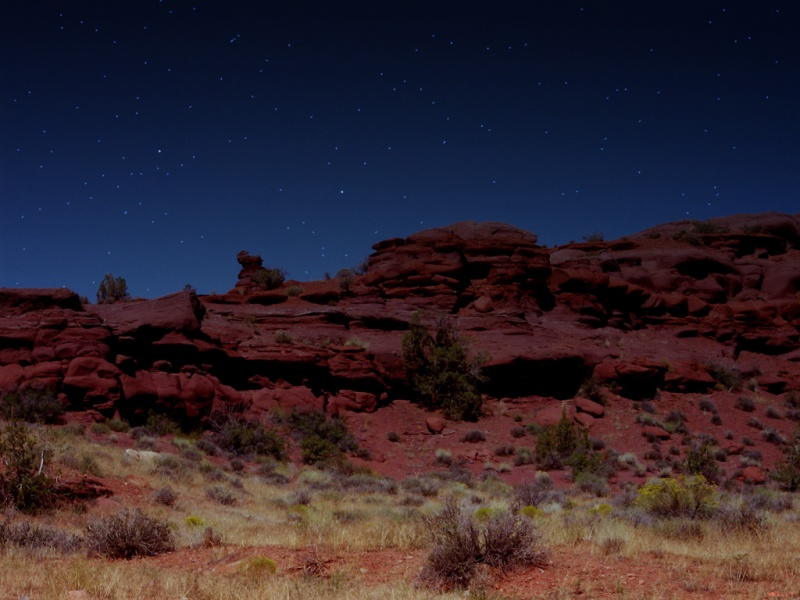 A Night  at Red Rock